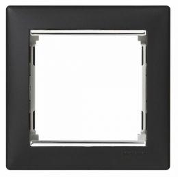 Рамка Valena ноктюрн/серебряный штрих 770391